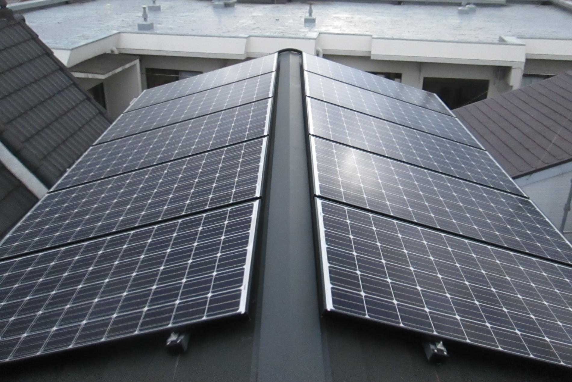N様太陽光パネル設置完了