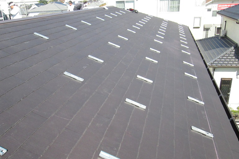 T様太陽光発電システム設置土台