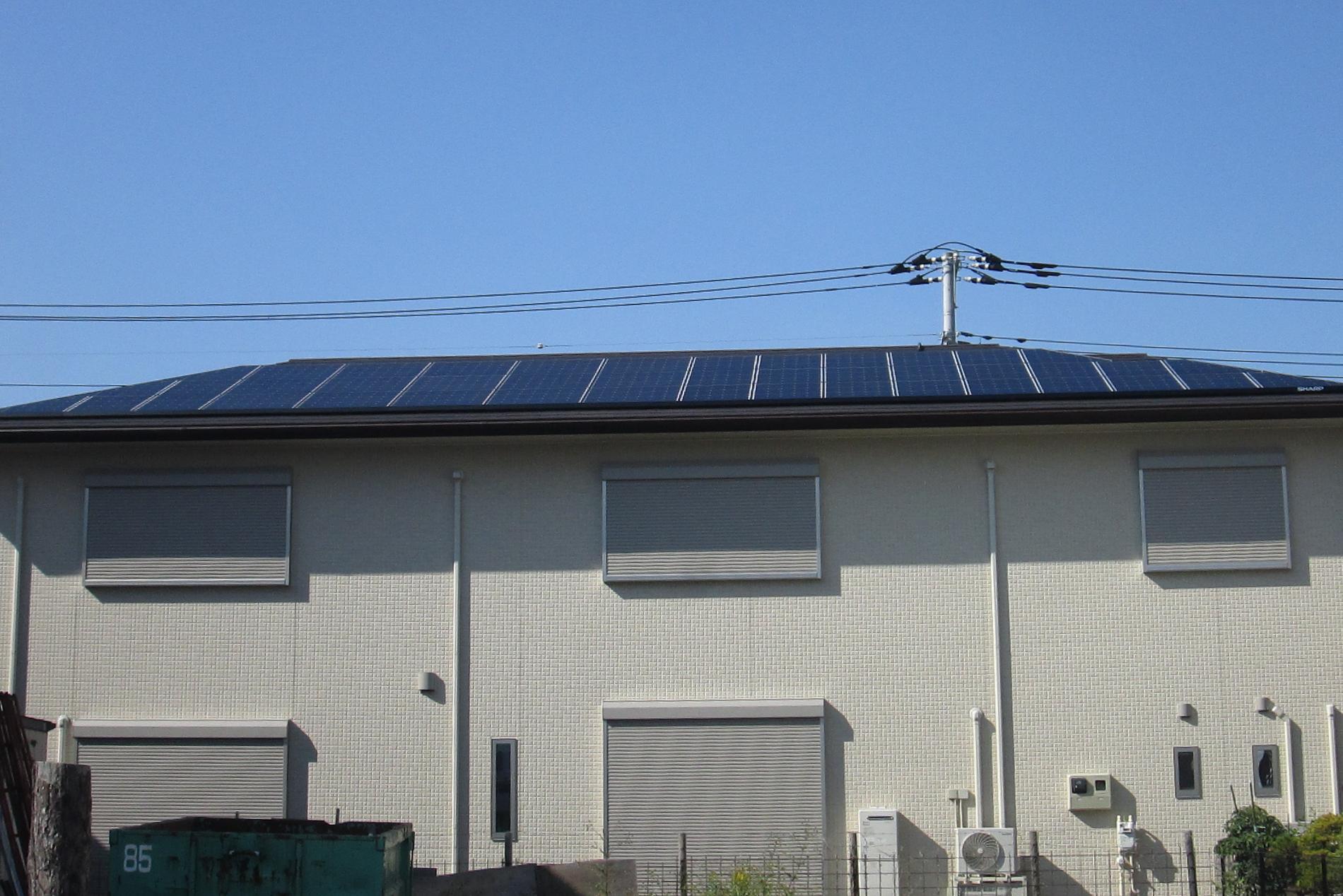 T様太陽光発電システム住宅外観
