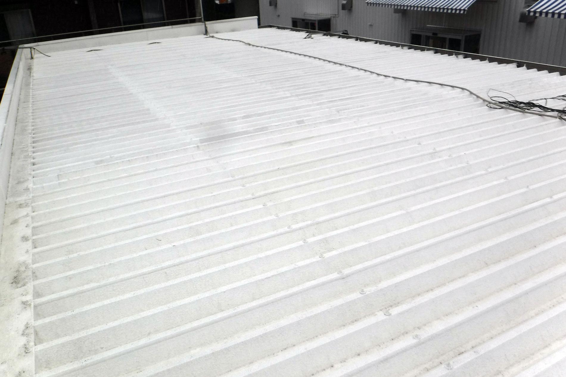 A社様設置前の屋根の様子